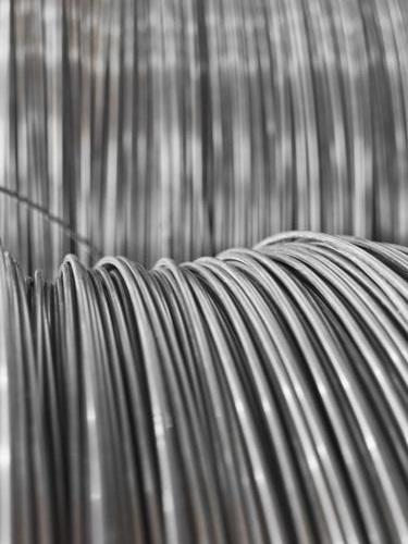 Alambres de acero galvanizado